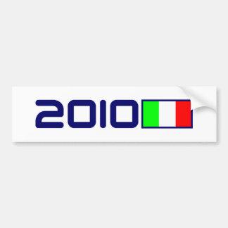 2010 Italian FLAG Bumper Sticker