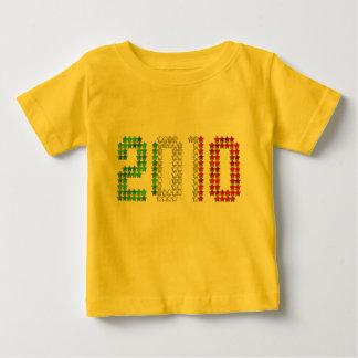 2010 Italy flag Italian New Year and sports gear Baby T-Shirt