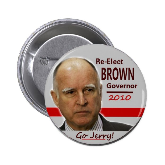 2010 Jerry Brown Pin