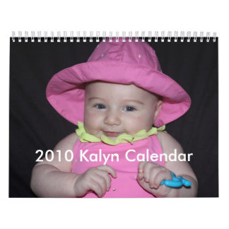 2010 Kalyn Calendar