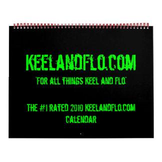 2010 KeelandFlo.com calendar