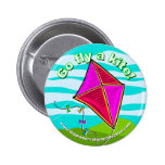 2010 Kite Festival Round Button from TPC