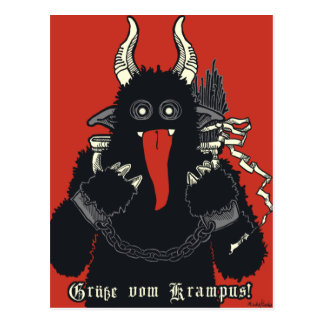2010 Krampus Postcard