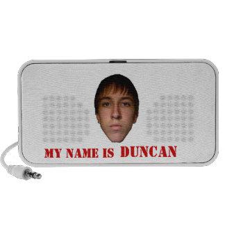 2010 locutores del Doodle, mi nombre son Duncan PC Altavoces