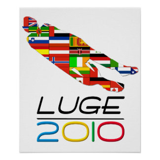 2010: Luge Poster