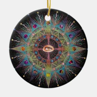 2010 Mandala I Ornament