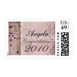 2010 Marble Graduation Design Postage Stamp