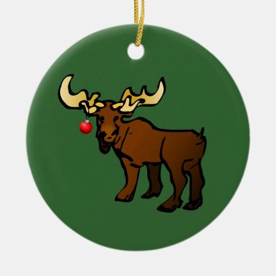 2010 Moose Ornament