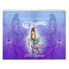 2010 Mystic Mermaid Calendar by Molly Harrison