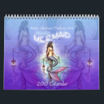 """2010 Mystic Mermaid Calendar by Molly Harrison<br><div class=""""desc"""">Featuring 12 beautiful pages of watercolor mermaids,  this calendar is sure to delight any mermaid collector.  From the Fantasy Art of Molly Harrison,  www.mollyharrisonart.com.  Please visit my website for more information about me and my art!   All content &#169; Molly Harrison 2009</div>"""