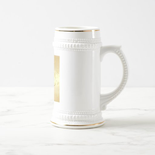 2010 New Year Gold stars Party 2010 Gear 18 Oz Beer Stein