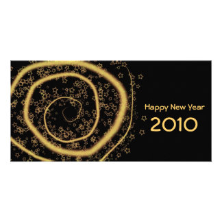 2010 New year Photo Card