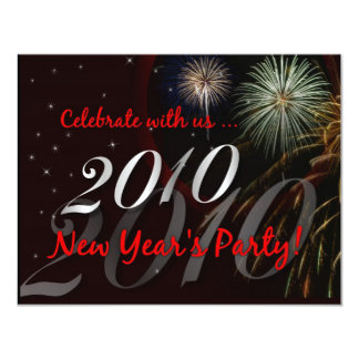 2010 New Year's Eve Party Invitations