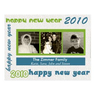 2010 New Years Postcard
