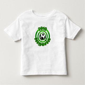 2010 Nigeria Soccer goal circles artwork gear Shirt