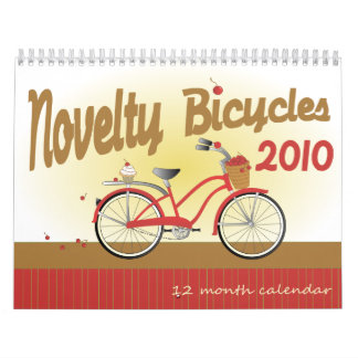 2010 Novelty Bicycles Calendars