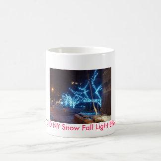 2010 NY Snow Fall Light Effect Mug