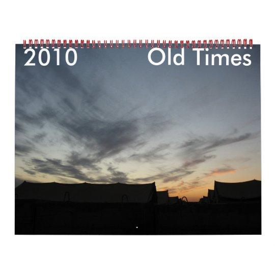 2010 Old Times Calendar