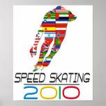 2010: Patinaje de velocidad Impresiones
