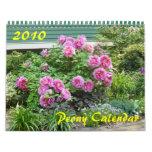2010 Peony Calendar