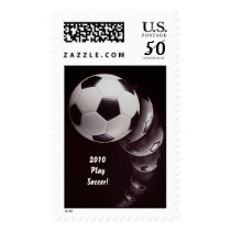 2010 Play Soccer! Postage