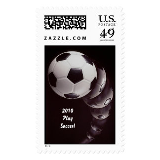 2010 Play Soccer! Postage Stamps