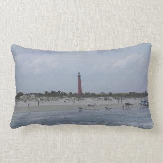 2010 Ponce Inlet Lighthouse, Florida Lumbar Pillow