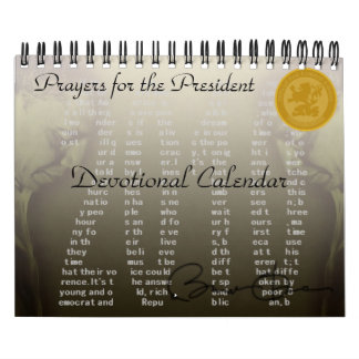 2010 Prayers for the President Devotional Calendar