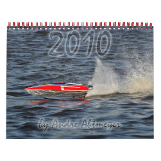 2010 RC Boat Calendar