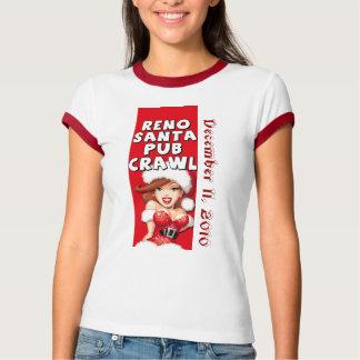 2010 Reno Santa Pub Crawl T-Shirt