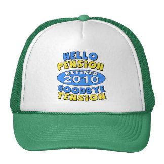 2010 Retirement Trucker Hat