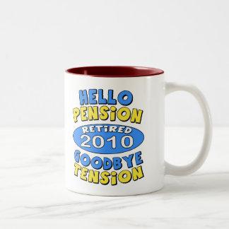 2010 Retirement Mugs