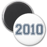 2010 Round Magnet