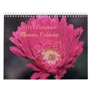 2010 Scripture Memory Calendar