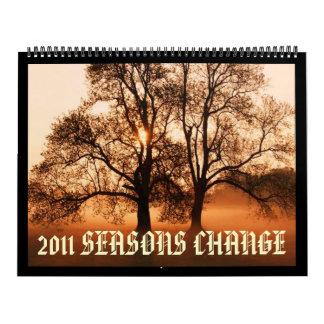 2010 SEASON CHANGE Customized Calendar