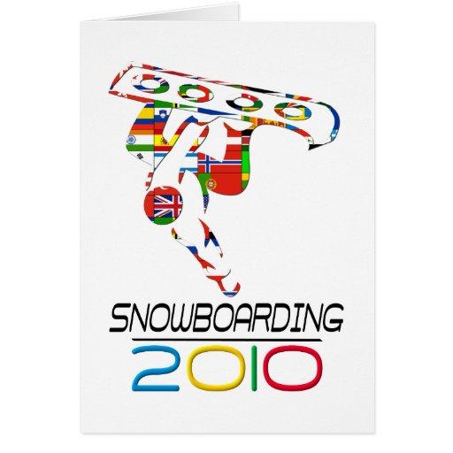 2010: Snowboard Tarjetón