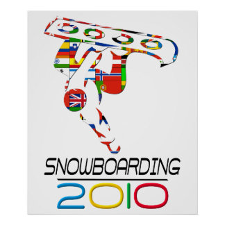 2010: Snowboarding Poster