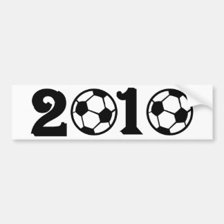 2010 Soccer Football World Cup Car Bumper Sticker