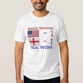 2010 Soccer USA Wins T-Shirt