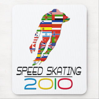 2010: Speed Skating Mouse Pad
