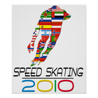 2010: Speed Skating Poster