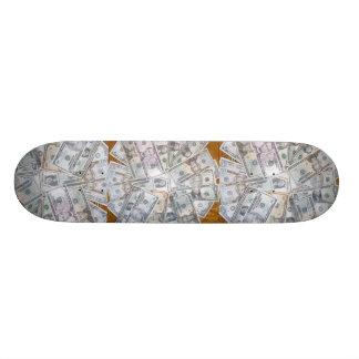 "2010 ""stackin madd chedda"" skate board deck"