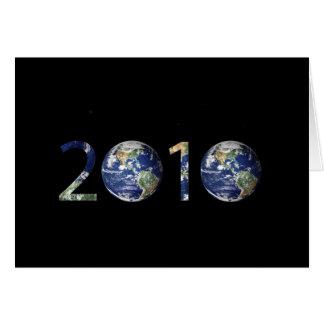 2010 TARJETA DE FELICITACIÓN