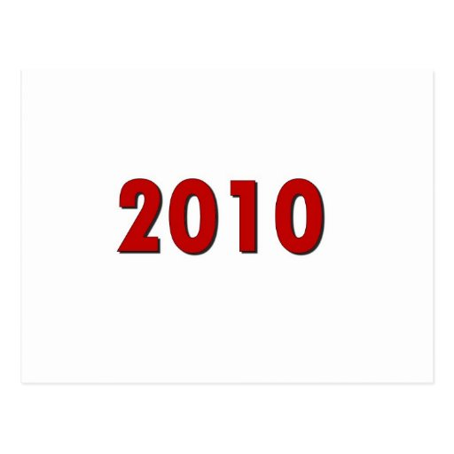 2010 TARJETA POSTAL