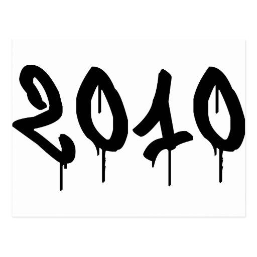 2010 TARJETAS POSTALES