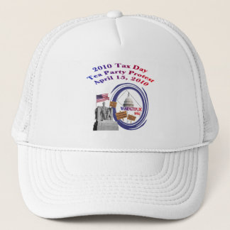 2010 Tax Day Tea Party Protest – Lincoln Memorial Trucker Hat
