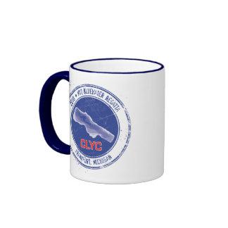 """2010 """"tazas del Regatta del agua azul del mejor Taza De Dos Colores"""