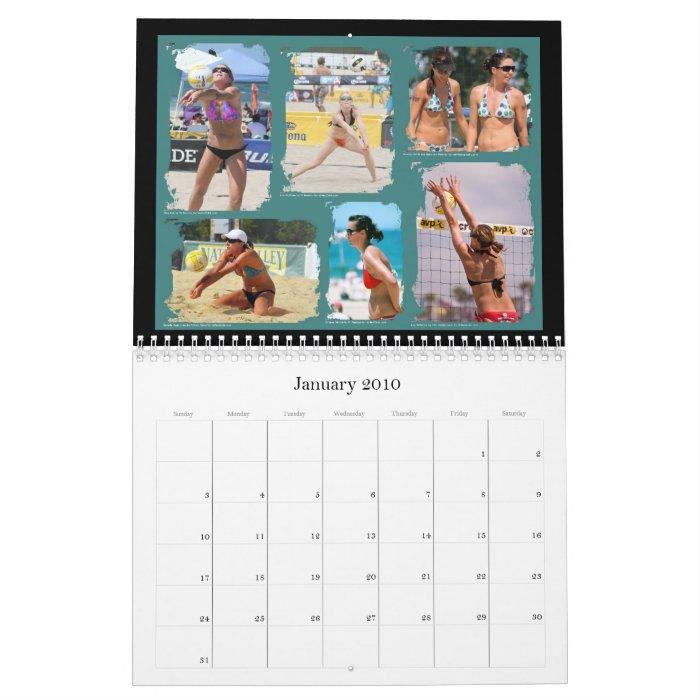 2010 Team VolleyChick Calendar