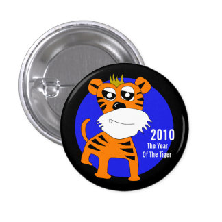 2010 The Year Of The Tiger Button
