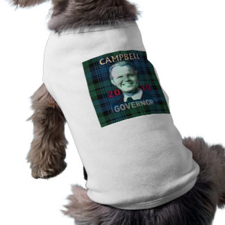 2010 Tom Campbell Governor Doggie Tank Top
